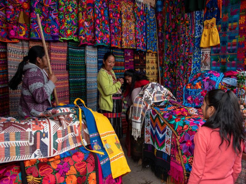 trh v Chichicastenangu